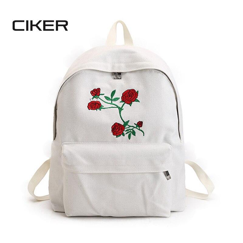 Bookbags роза цветочный принт рюкзак рюкзаки spider производитель