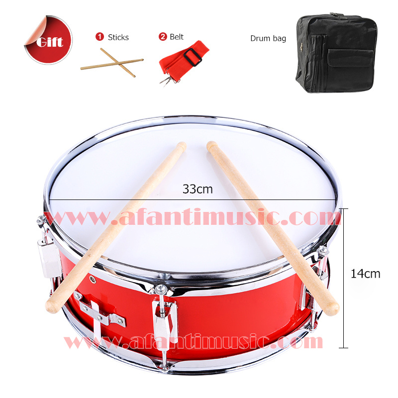 13 inch Afanti Music Snare Drum (ASD-042) 13 inch double tone afanti music snare drum sna 109 13