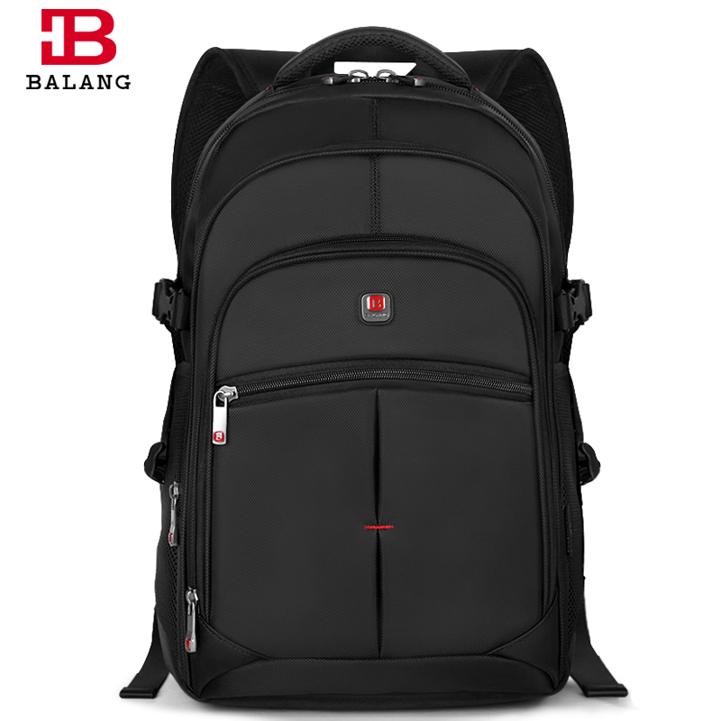 Balang Brand Fashion Korean Style Unisex Men College School Bag Teenage Boy Travel Waterproof Nylon Large Capacity Backpacks