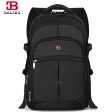 3ec6bdd74f BALANG Brand Fashion Korean Style Unisex Men College School Bag Teenage Boy  Travel Waterproof Nylon Large Capacity Backpacks