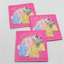 Napkins with Princesses Pattern 20 pcs/lot