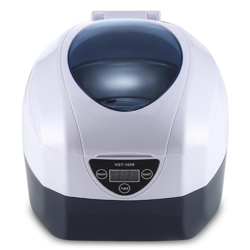 VGT - 1000 0.75L Ultrasonic Manicure Sterilizer Cleaner Sterilizing Nail Tools Disinfection Machine vgt 1000 0 75l ultrasonic manicure sterilizer cleaner sterilizing nail tools disinfection cleaning machine