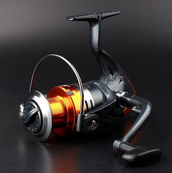 Металл бесщелевое Рыбалка Катушка рыба линия колесо прялки Рыбалка колеса pre загрузки 9BB прялка Бесплатная доставка