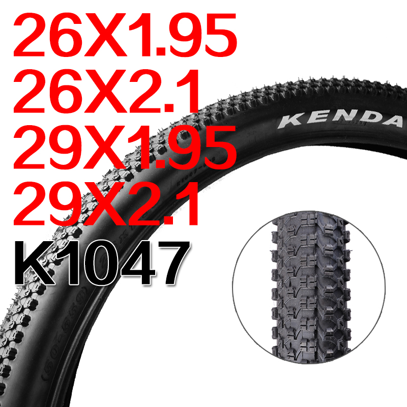 Free shipping original MTB tire K1047 tire 26er 27.5er 29er 1.95 2.1 2.2 2.35 Bicycle tires fold tire bike
