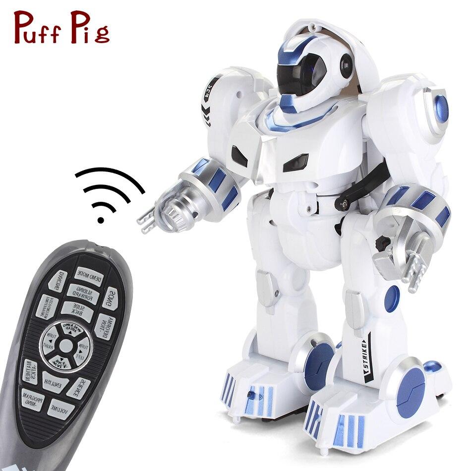 Transformable intelligent chantant danse RC Robot Animal avec la musique anglaise éducative USB charge télécommande jouets pour enfants