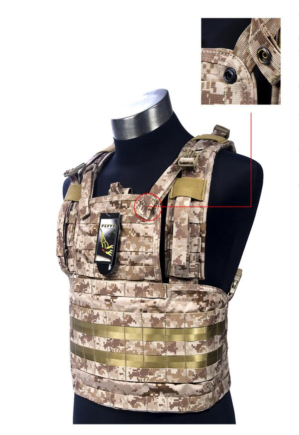 все цены на In stock FLYYE genuine MOLLE  RRV Vest  Military Tactical Vest  VT-C004 онлайн