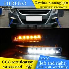 Hireno AUTO WAY For VoIkswagen Passat CC 2008-13 Car Daytime running lights Signal Function Relay Waterproof 12V