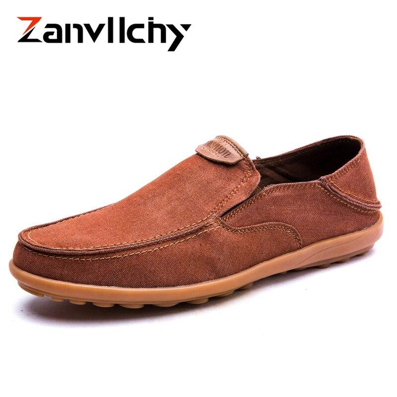 47 Bleu Zanvllchy Glissement Sur De Espadrilles Plates 38 gris Respirant Toile Grande Tissu Casual Hommes Taille Chaussures En orange 6qxn6waC