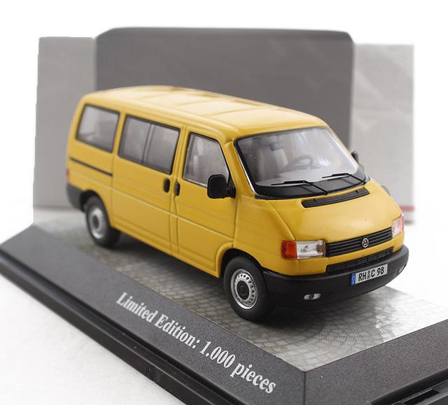1:43 Alemania PCLS VW T4 Bus van wagon modelo de Aleación Modelo de Favoritos