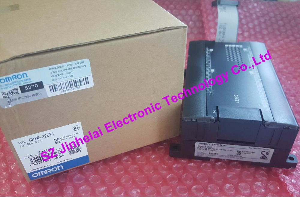 CP1W-32ET1  New and original OMRON  PLC CONTROLLER new and original e3x da11 s omron optical fiber amplifier photoelectric switch 12 24vdc