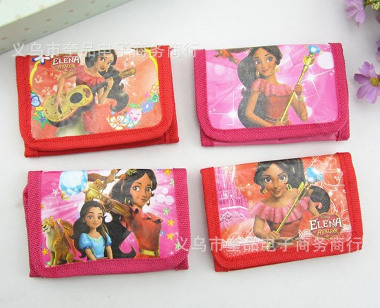 12Pcs Elena of Avalor Oceana Moana Purses Money Bag Coin Pouch Children Purse Small Wallet For Kids Party Supplies Gift