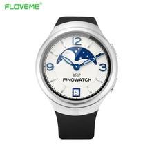 Floveme smart watch für android ios sport smartwatch auf handgelenk schrittzähler schlaf tracker sim-karte wifi intelligente dfü anrufen uhr