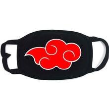 Fashion Unisex Mouth Mask Anime Naruto Cosplay Akatsuki Uchiha Kakashi Sharingan Cotton Face Mask Anti PM2.5 Dust Warm Muffle
