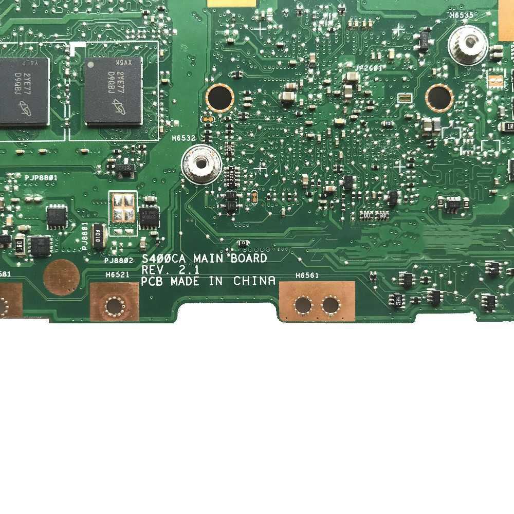 60NB0060-MB2060 для ASUS S500CA материнская плата для ноутбука S400CA REV: 2,1 с SR08N i5-3317U процессор 4 Гб оперативной памяти