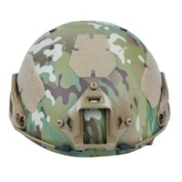 Casco Con Equipaggiamento Protettivo Goggle 2-in-1 esterno tattico campo casco di protezione del camuffamento casco Casco Della Bicicletta