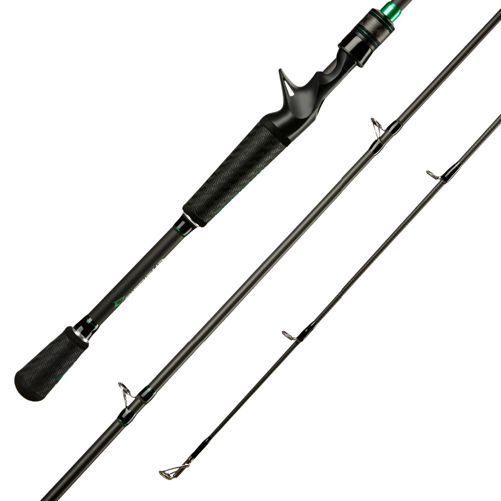 Image 2 - Piscifun Serpent Casting Rod Two Piece Baitcasting Rod IM7 Toray 