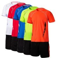 2016 17 Free Custom Top Paintless Men Kids Soccer Training Jersey Suit Survetement Football Men S