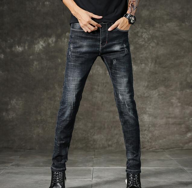 Classic Direct Stretch Stylish Comfortable Soft   Jeans   For Men Casual Denim On Hot Sales