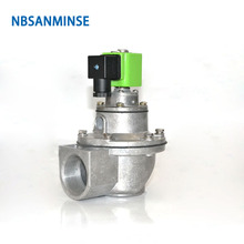 цена на NBSANMINSE QD-Z 3/4 1 1-1/2 2 Inch Pulse Jet Valve Dust Collector Double Seal Diaphragm Valve SBFEC Type