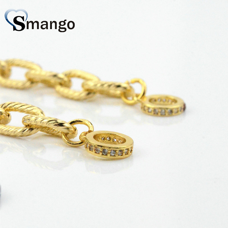 10 Pieces, Jewelry Accessories, The Oval shape Chains Setting CZ, DIY Accessories, 3 Plating Colors,can Wholesale