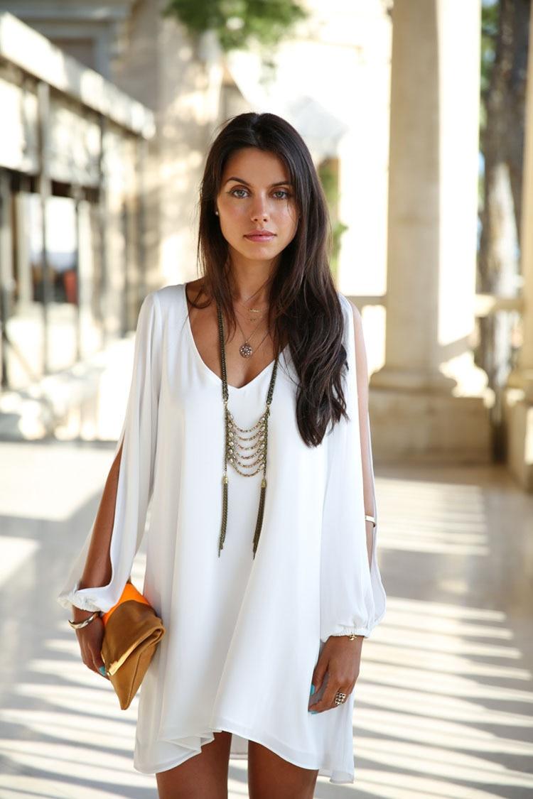 Crazy 8 white dress 2016
