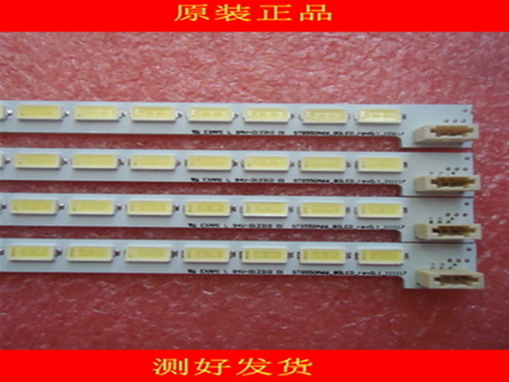 5PCS*80LED LJ64-03515A LTA550HQ20 LTA550HQ22 LED55X5000DE LED Strip STS550A66-80LED-rev0.1 676mm 3 Pin