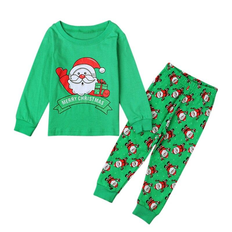 0c3b4bf8f1 Christmas Pajamas Baby Boys Girls Clothing Sets Santa Claus Deer Pyjamas  Sleepwear Nightwear Pjs New Cotton Kids Clothes DS40-in Pajama Sets from  Mother ...