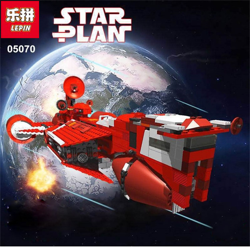 Lepin 05070 963Pcs New Star War Series The Republic Cruiser Set Educational Building Blocks Bricks Funny Toys rollercoasters the war of the worlds