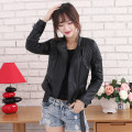 2017 Women Fashion Black Genuine Leather Jacket Real Sheepskin Plus Size XXL Slim Fit Shor Coat Factory Direct FREE SHIPPING