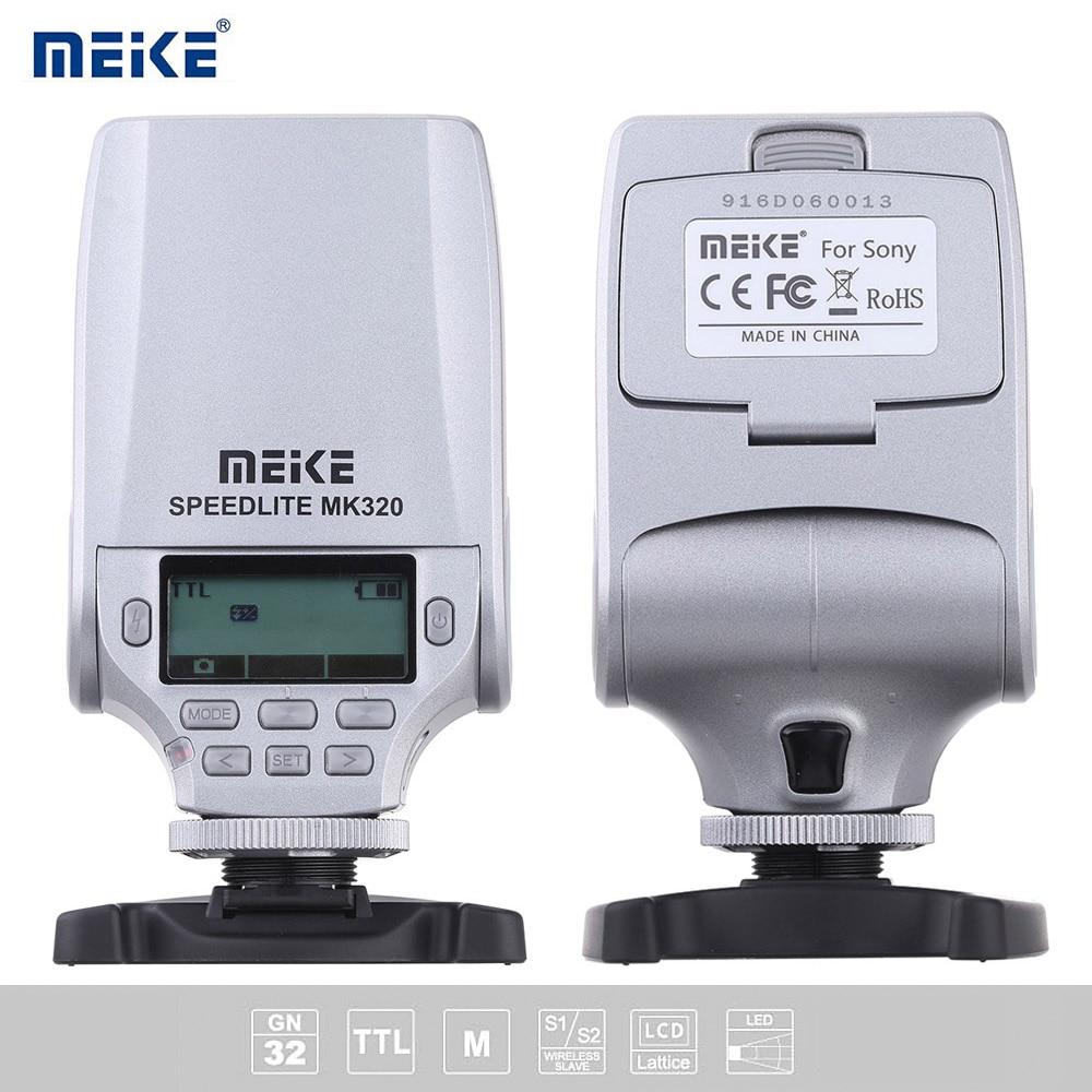 МАЙКЕ TTL MK320-S GN32 Мини Вспышка Света Вспышки Speedlite для Sony A7SII A7R A7II A7RII RX100II NEX-6 NEX-7 A77 A5000 A5100 A6000 A7