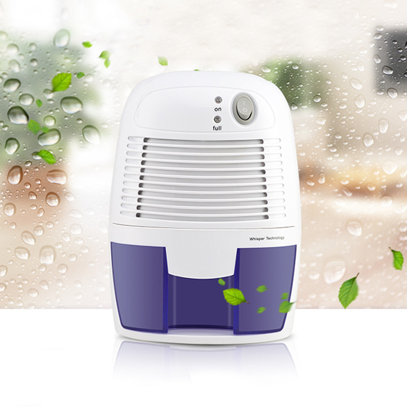 Dehumidifier Air Dryer 22W 500ML Moisture absorbing Desiccant Compatible portable Desumidificador para casa 110-240V