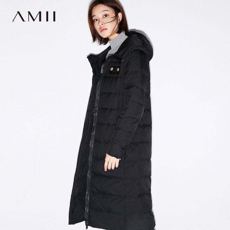 De Manteau Blanc Couvert Canard 90 noir Duvet 2018 Hiver Légères Mode Bouton army La Manteaux Femmes Amii Green Hoodies Veste Beige Cw8qX4q
