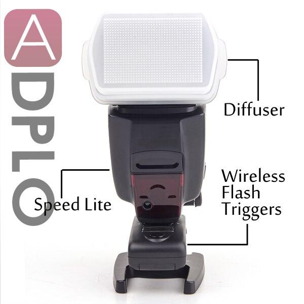 Wireless Trigger speedlite flash light work for Canon 7D Mark II 5D Mark III 600D 550D 500D 450D with Flash trigger MK-RC9 все цены