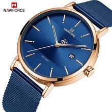 NAVIFORCE, женские часы, Лидирующий бренд, Роскошные, водонепроницаемые, женские часы, модные, для пары, часы, браслет, donna orologio reloj mujer