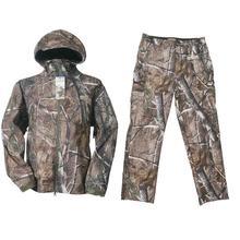 Охота куртка+ Охота Штаны Открытый камуфляж Охота Soft Shell съемки Восхождение Рыбалка водонепроницаемый дышащий