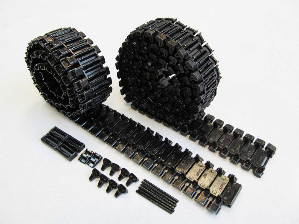 Mato Sherman T49 metal track for 1/16 1:16 RC Mato M4A1 Sherman, Heng Long 3898-1 M4A3 Sherman tank, metal upgrade parts mato sherman tracks 1 16 1 16 t74 metal tracks
