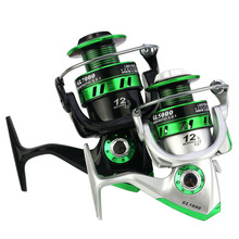 Spinning Fishing Reel GL 1000  2000 3000 4000 5000 6000 7000 Baitcasting Reel Rod Good Fishing Wheel Sea Fishing Tackle China цена 2017