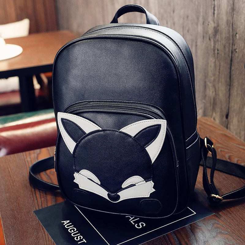 2017 Fashion Women Backpack High Quality PU Leather Backpacks for Teenage Girls Female School Shoulder Bag