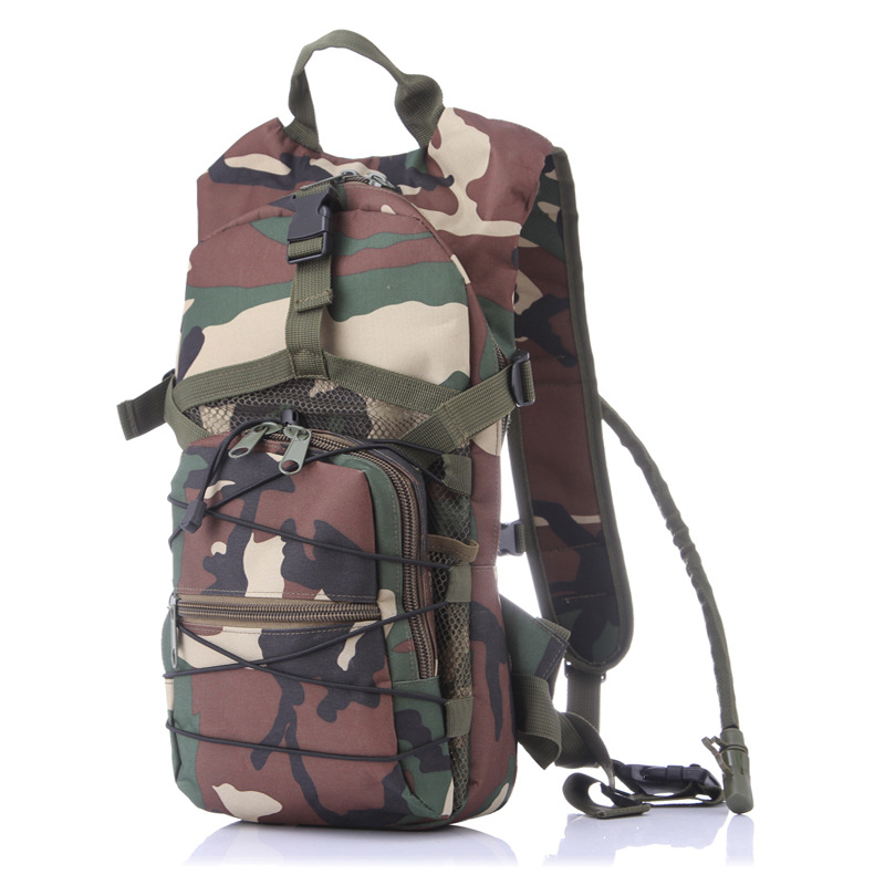 Camouflage Hydration Pack Bicycle Backpack Mountaineering Bags Military Tacticas Backpack Travel Rucksack bolsa de agua W28 10l professional hydration bag bicycle backpack for men road packsack rucksack vest bag hydration pack women s shoulder bags 508