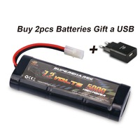 MELASTA 7 2V 5000mAh Ni MH High Power Battery Packs With Tamiya Discharge Connector For RC