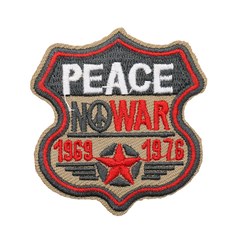 Custom Embroidery Patches, Memory Patches Arms Army Embroidered badges Shield Iron On Sew Patch