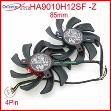 HA9010H12SF-Z 12V 0.35A 85mm 4Wire 4Pin For Dataland R9 280X 3G Graphics Card Cooling Fan free shipping ha9010h12f z ha9010h12sf z 12v 0 57a 85mm 40 40 40mm 4wire 4pin for dataland graphics card cooling fan