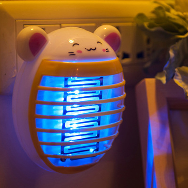 Mosquito Killer Lamps Helpful Lovely Panda Mosquito Killer Lamps Kids Bedroom Led Socket Electric Mosquito Fly Bug Insect Trap Killer Zapper Lights Night Lamp Lights & Lighting