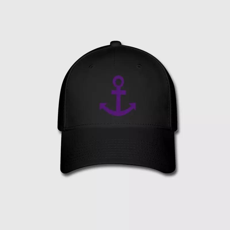 e722ceac5d2dd Anchor Logo Embroidery Customized Handmade Sailing Sailor Sea Miami ...