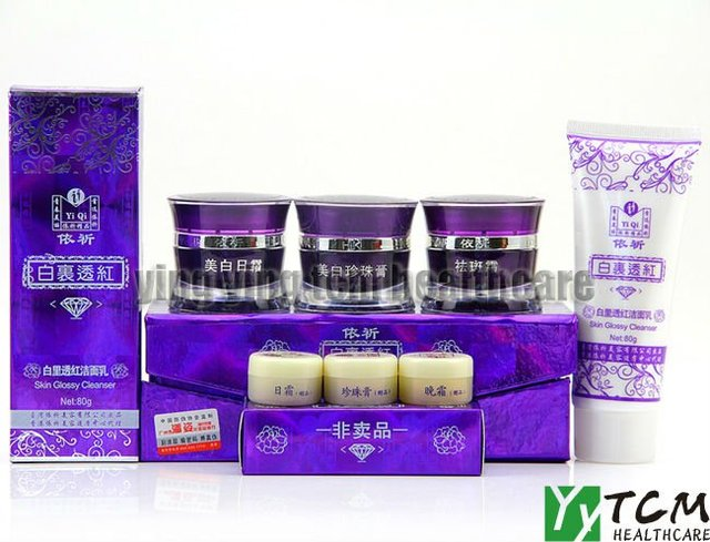 Hot atacado creme yiqi Beleza Whitening creme 2 + 1 Eficaz Em 7 Dias Creme facial quarta geração