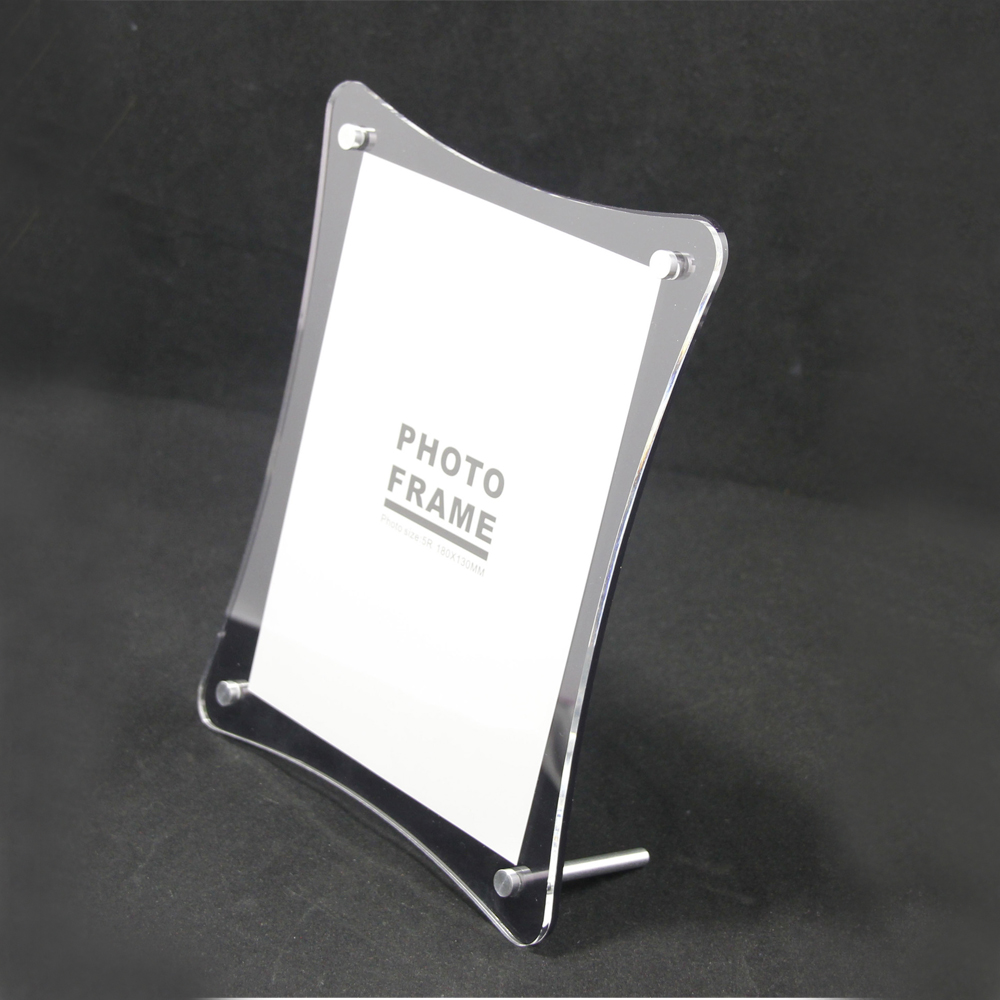 6 units/lot) Acrylic Plexiglass Photo Picture Frame with Standoff ...