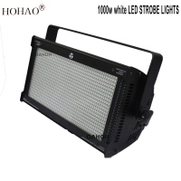 HOHAO 2018 New 1000w white Led Strobe Lights For Performance theater stage school Meet Room Office