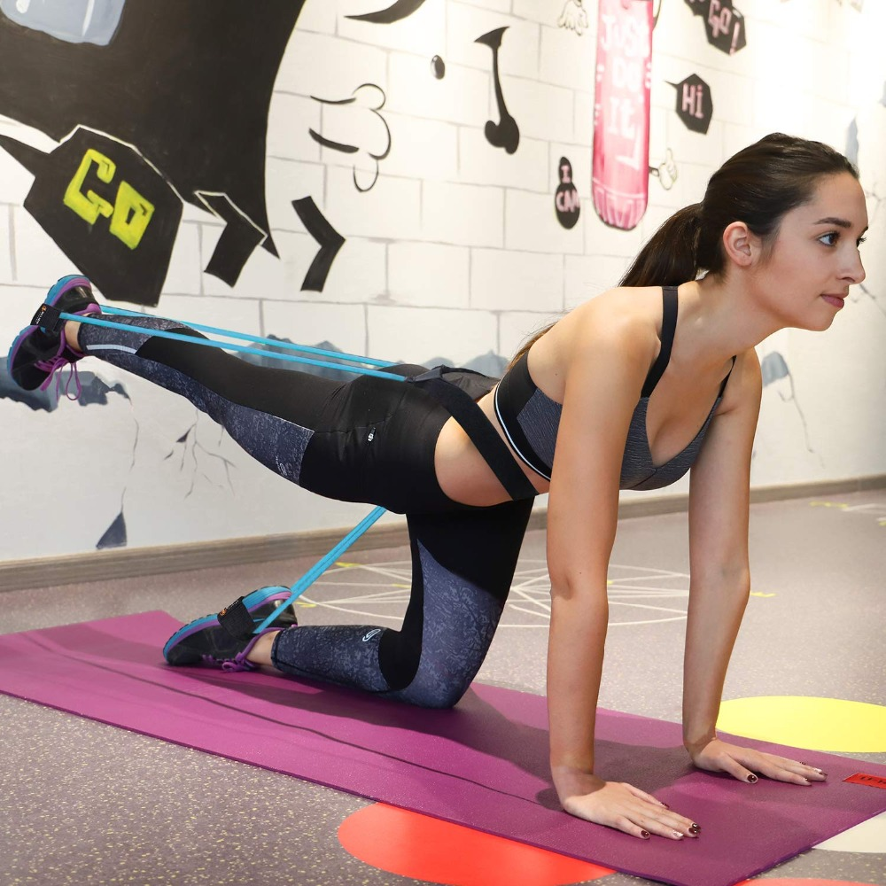 Booty Belt Resistance Bands + Workout System 3