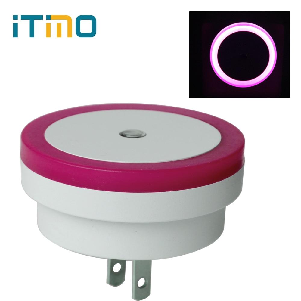 iTimo US Plug Novelty Light Sensor Controlled Romantic Baby Home Bedroom Decoration Luminaria LED Night Light Lamp