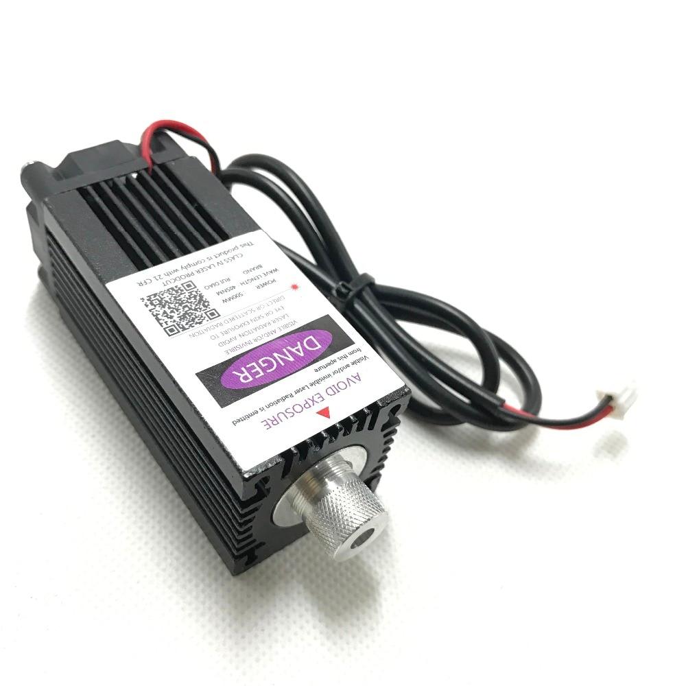 500 mw 405NM mise au point bleu violet module laser de gravure, laser tube diode hx2.54 2 p port + de protection googles